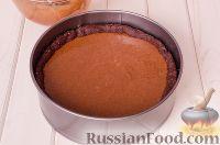 Фото приготовления рецепта: Шоколадный пирог с вишней - шаг №16