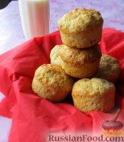 Фото к рецепту: Сырные маффины с тимьяном и кардамоном