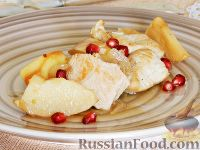 Фото к рецепту: Филе индейки с айвой