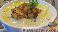 Фото к рецепту: Суп-пюре из цветной капусты