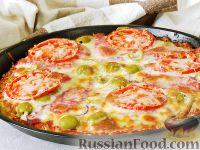 Фото к рецепту: Картофельная пицца