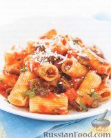 Фото к рецепту: Макароны с томатным соусом
