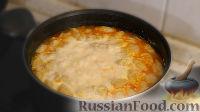 Фото к рецепту: Сырный суп с клёцками