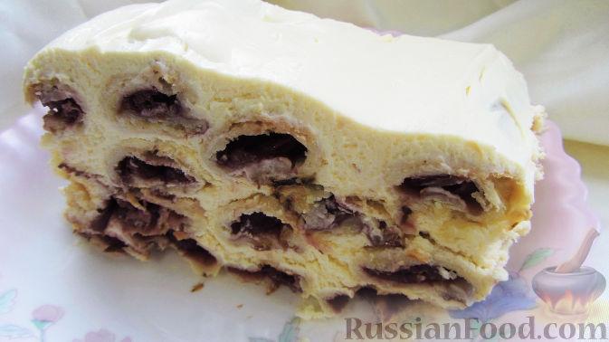 Торт поленница вишней рецепт пошагово 62