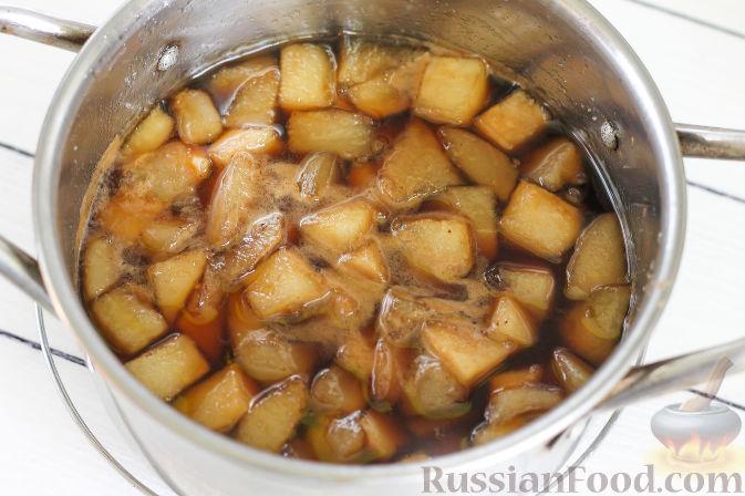 Фото приготовления рецепта: Грушевый конфитюр с кофе - шаг №8