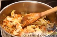 Фото приготовления рецепта: Грибной суп - шаг №8
