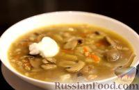 Фото приготовления рецепта: Грибной суп - шаг №11