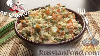 """Фото к рецепту: Салат """"Селяночка"""" из моркови, яиц и зеленого лука"""