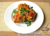 Фото приготовления рецепта: Курица в апельсиновом желе - шаг №6