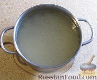 Фото приготовления рецепта: Суп с лапшой и машем - шаг №2