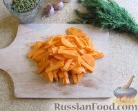 Фото приготовления рецепта: Суп с лапшой и машем - шаг №5