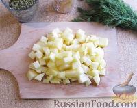 Фото приготовления рецепта: Суп с лапшой и машем - шаг №7
