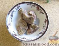 Фото приготовления рецепта: Суп с лапшой и машем - шаг №3