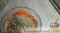 Фото приготовления рецепта: Морковный торт с творожным кремом - шаг №4