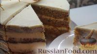 Фото приготовления рецепта: Морковный торт с творожным кремом - шаг №13