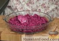 """Фото приготовления рецепта: Салат """"Осенняя сказка"""" из моркови и свеклы - шаг №6"""