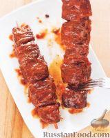 Фото к рецепту: Филе говядины под соусом барбекю