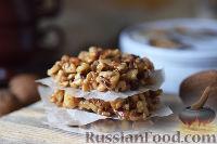 Фото к рецепту: Козинаки с грецкими орехами