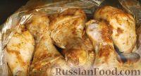Фото к рецепту: Ароматная курица в рукаве
