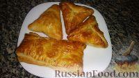 Фото к рецепту: Слойки с картофелем и шампиньонами