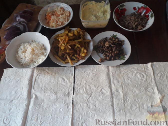 Фото приготовления рецепта: Каннеллони с мясным фаршем, запеченные под томатным соусом и сыром - шаг №2