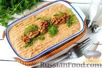 Фото к рецепту: Паштет из чечевицы, с орехами