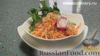 Фото к рецепту: Салат из кольраби