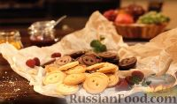 """Фото к рецепту: Песочное печенье """"Пуговицы"""""""