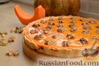 Фото к рецепту: Американский тыквенный пирог
