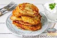 Фото к рецепту: Ирландские картофельные драники (боксти)