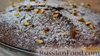 Фото к рецепту: Шоколадный манник без муки