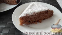 Фото к рецепту: Пирог на ряженке с вареньем