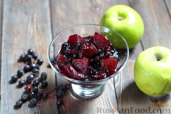 Фото к рецепту: Варенье из черноплодной рябины