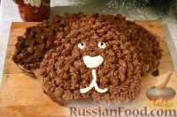 "Фото к рецепту: Торт ""Собачка"""
