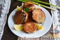 Фото к рецепту: Баклажаны с ореховой пастой, в сырном кляре