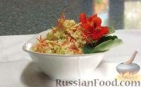 Фото к рецепту: Салат из капусты, с майонезом