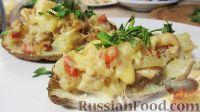 Фото к рецепту: Фаршированный картофель