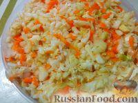 Фото к рецепту: Хрустящая квашеная капуста
