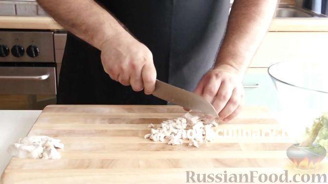 Фото приготовления рецепта: Овсяный крамбл с мандаринами - шаг №7