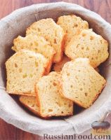 Фото к рецепту: Сырный хлеб
