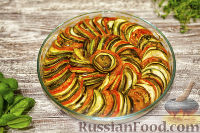 Фото к рецепту: Рататуй (овощное рагу)