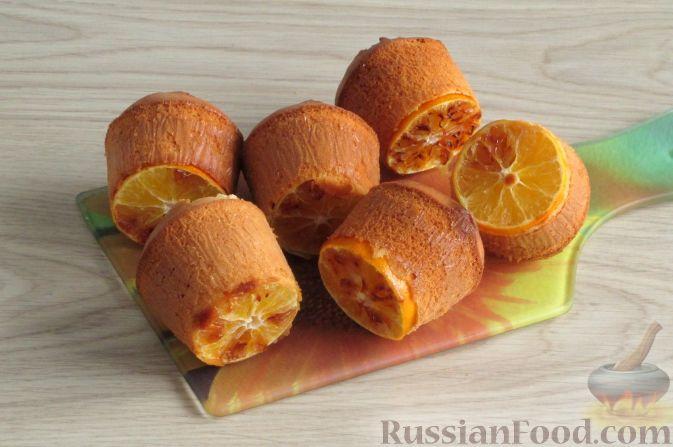 Фото приготовления рецепта: Муале с мандаринами - шаг №13
