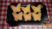 Фото к рецепту: Домашнее творожное печенье