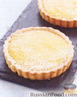 Фото к рецепту: Лимонный пирог из песочного теста