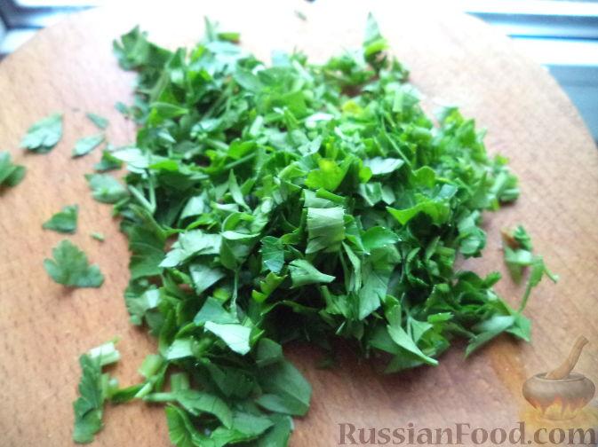 Фото приготовления рецепта: Рагу с курицей, картошкой, тыквой и цветной капустой - шаг №9