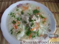 Фото к рецепту: Суп из цыпленка