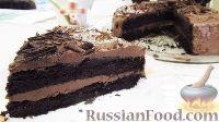 "Фото к рецепту: Торт ""Пища Дьявола"" (Devil's Food Cake)"