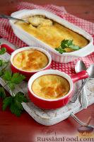 Фото к рецепту: Сырное суфле