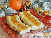 Фото к рецепту: Песочное печенье с апельсиновым джемом