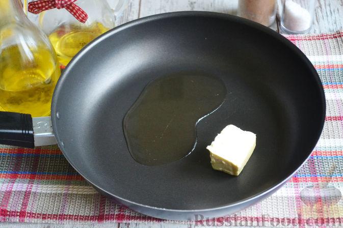 Фото приготовления рецепта: Курица с айвой (в сидре) - шаг №3